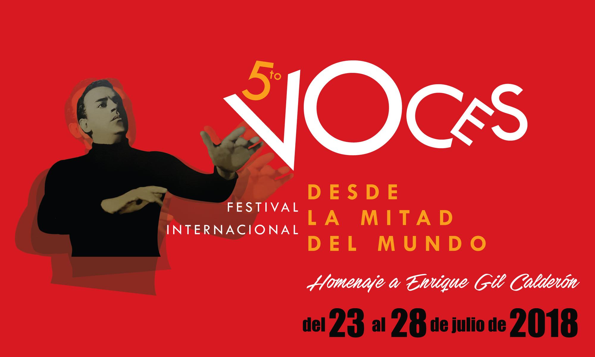 Festival Internacional Voces desde la Mitad del Mundo