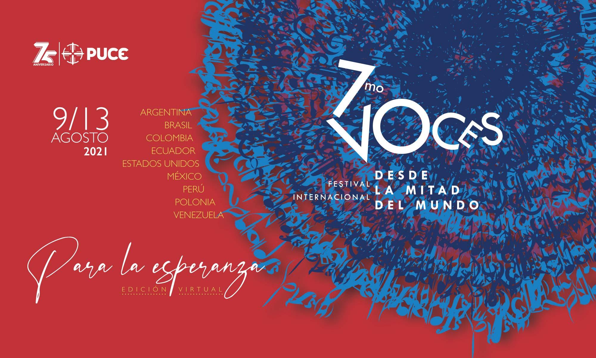 7mo Festival Internacional Voces desde la Mitad del Mundo