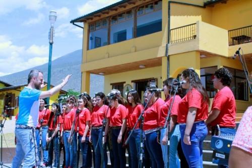 Coro de niños de Guaymallén de Argentina